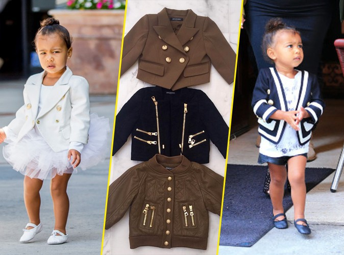 Photos : North West : À deux ans, la fille de Kim K confirme son goût très prononcé pour la mode !
