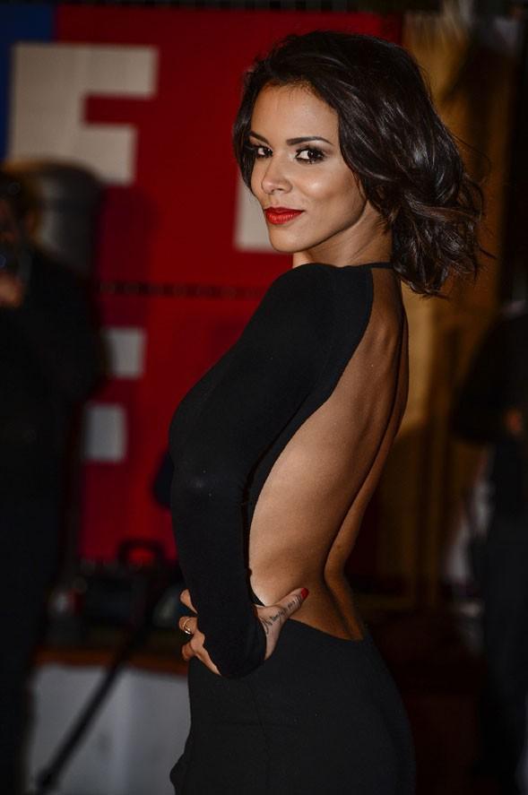 Shy'm sur le tapis rouge des 14èmes NRJ Music Awards