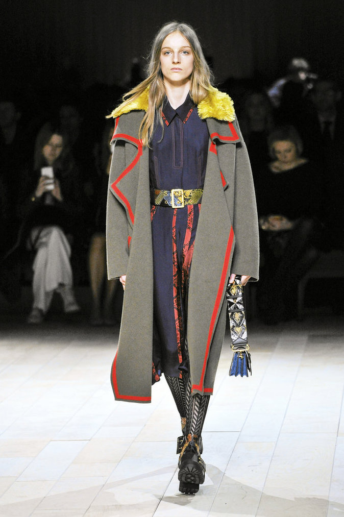 Le manteau army Burberry