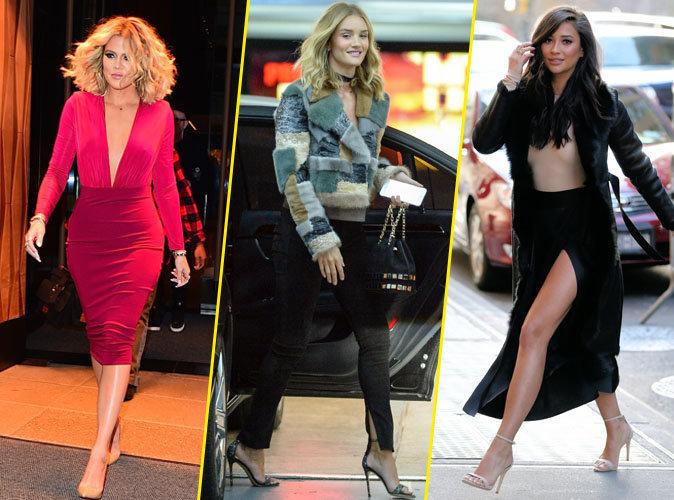 Shay Mitchell, Rosie Huntington-Whiteley, Khloé Kardashian