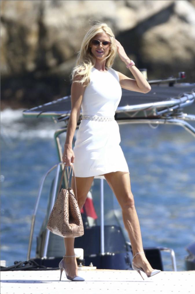 La Palme Fashion spéciale Cannes : Victoria Silvstedt