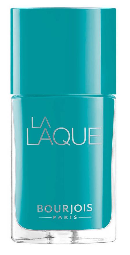 Le bleu turquoise : La laque, Bourjois 10,99€