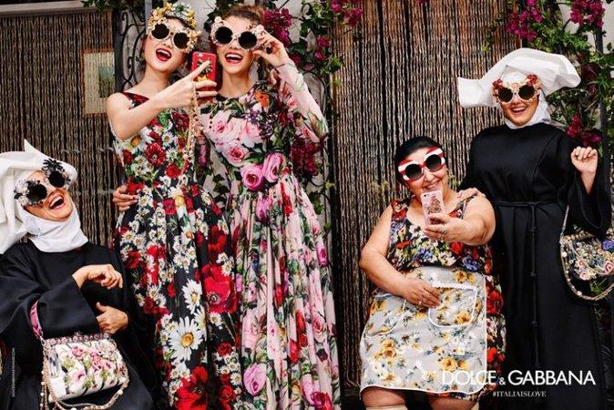 Pauline Hoarau pour Dolce & Gabbana Eyewear