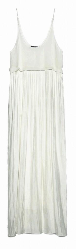 Robe longue Zara 39,95€