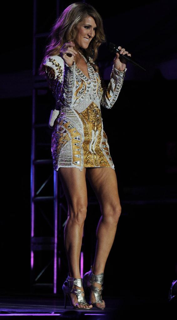 Céline Dion en Balmain
