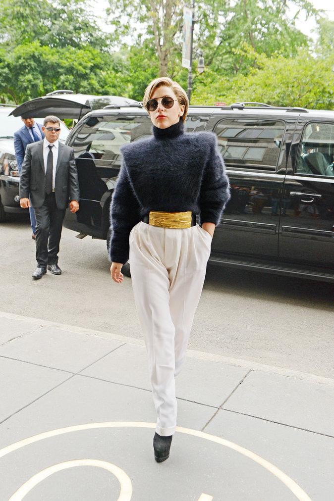 Lady Gaga en Balmain