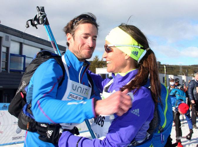 Pippa Midleton et James Matews à la neige