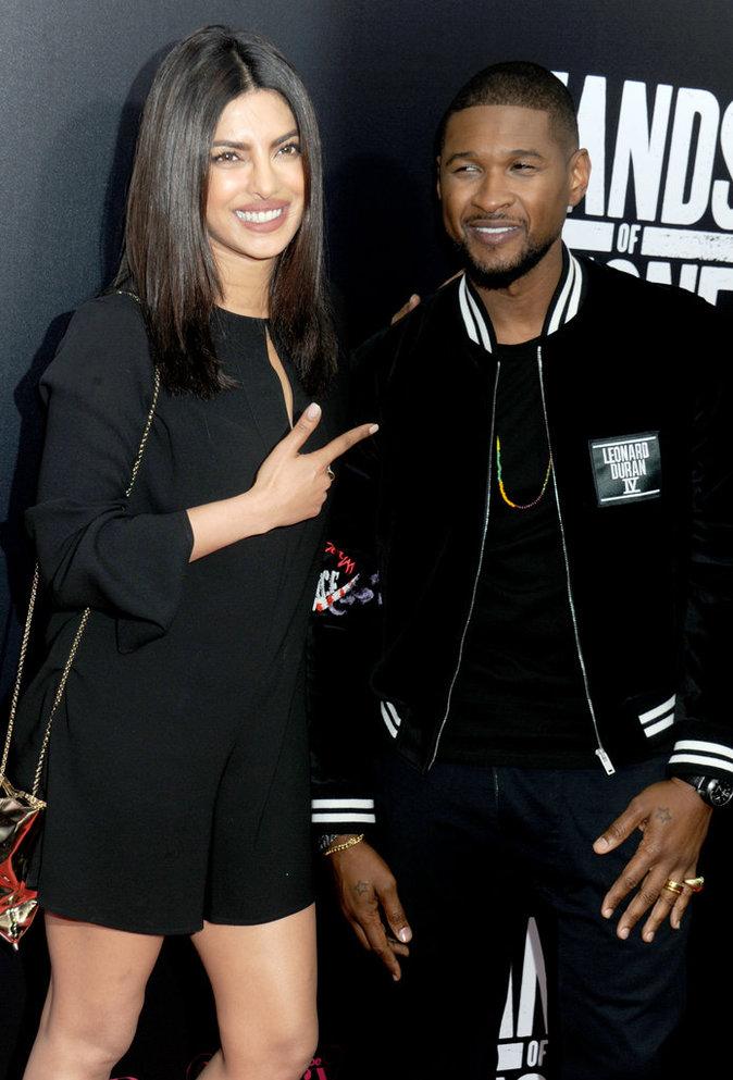 Priyanka Chopra et Usher