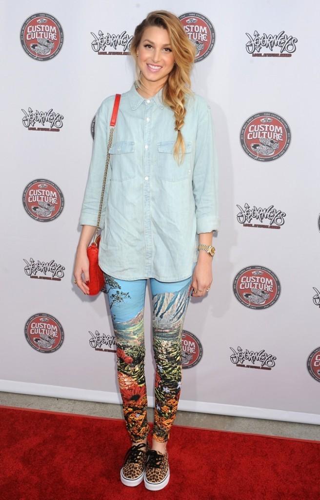 Whitney Port : personnalité télé, auteur et styliste !
