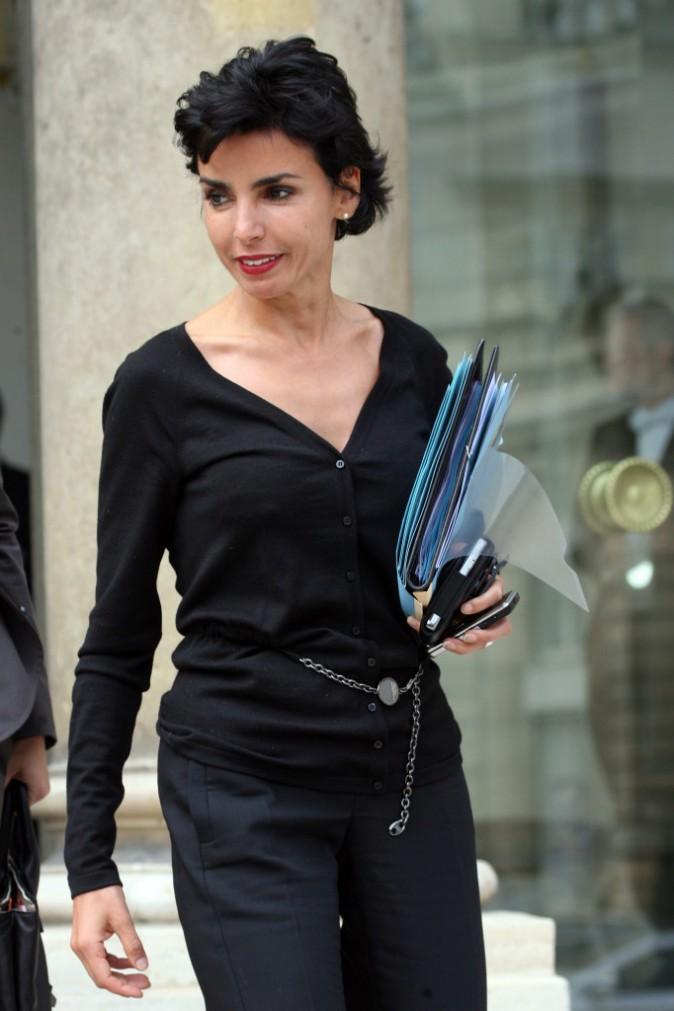 14/05/2008 : Rachita Dati à l'Elysée
