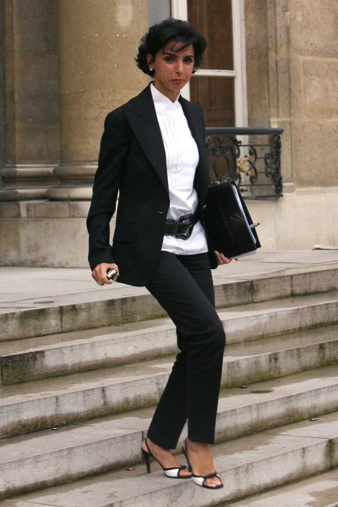 18/10/2007 : Rachida Dati quitte le Conseil des Ministres