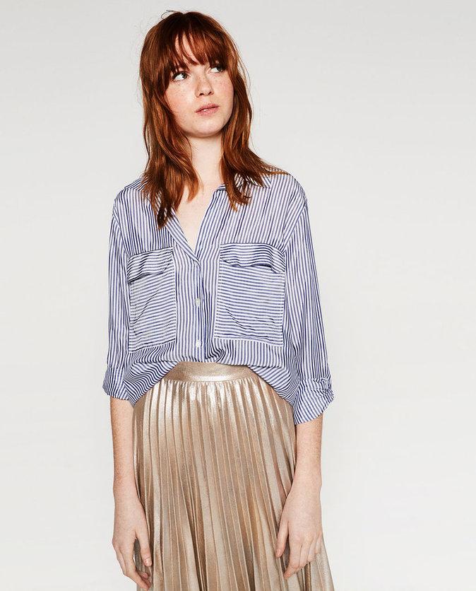 Chemise à rayures – ZARA – 39,95€