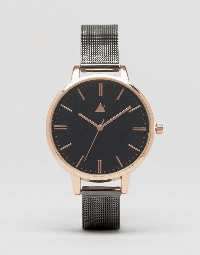 Montre à bracelet maille - ASOS - 29,99€