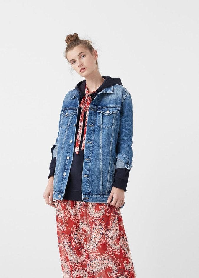 Veste en jean oversize – Mango – 39,99€