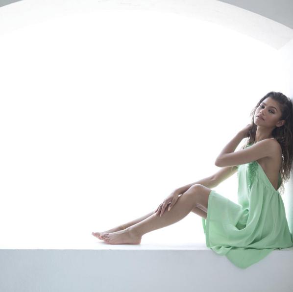 Zendaya pour Modeliste Magazine