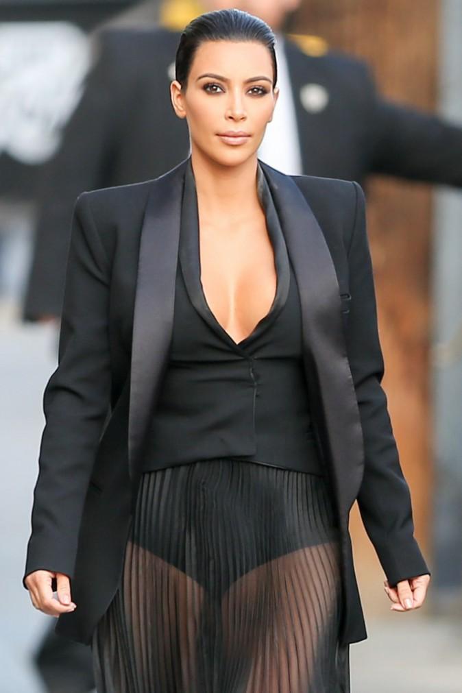 01/05/2015 : Kim Kardashian se rend au restaurant Shibuya Sushi