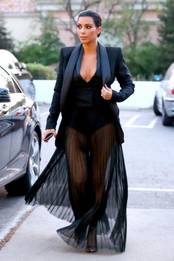 03/05/2015 : Kim Kardashian se rend au restaurant Shibuya Sushi