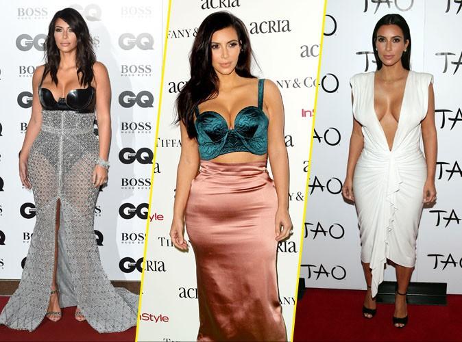 Retour en images sur les décolletés plongeants les plus provocants de Kim Kardashian !