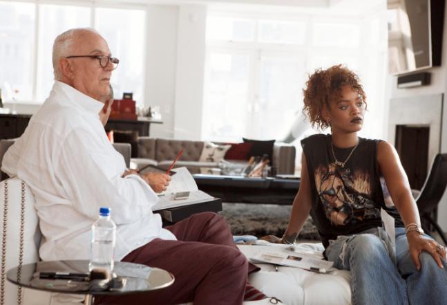 Photos : Rihanna et Manolo Blahnik : découvrez les premières photos de la nouvelle collection !