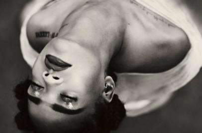 "Rihanna dans son clip ""Kiss it Better"""