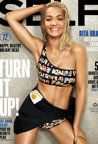 Photos : Rita Ora affiche ses abdos pour Self Magazine