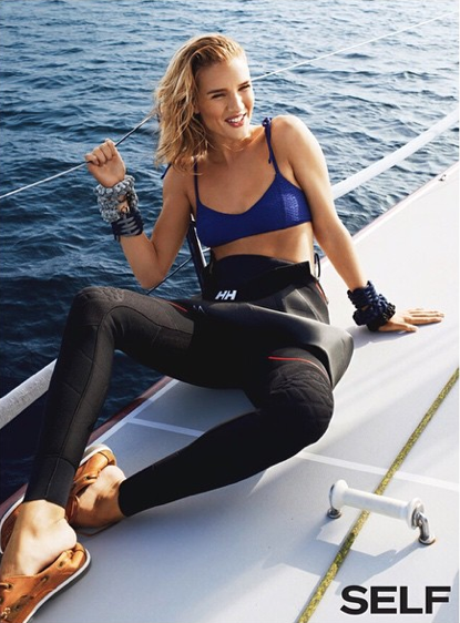 Photos : Rosie Huntington-Whiteley, le moussaillon sexy de Self Magazine !