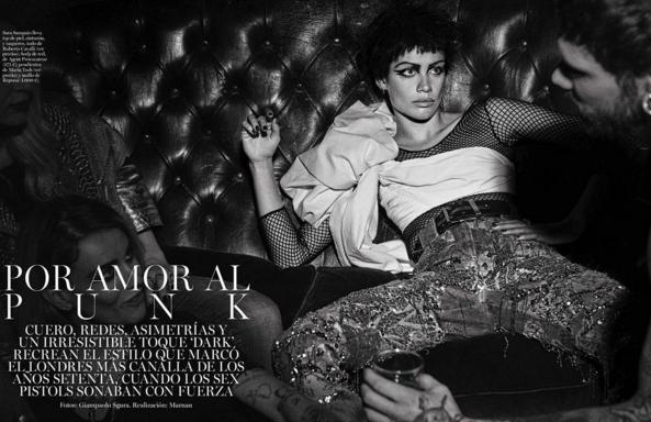 Sara Sampaio pour Vogue Espagne