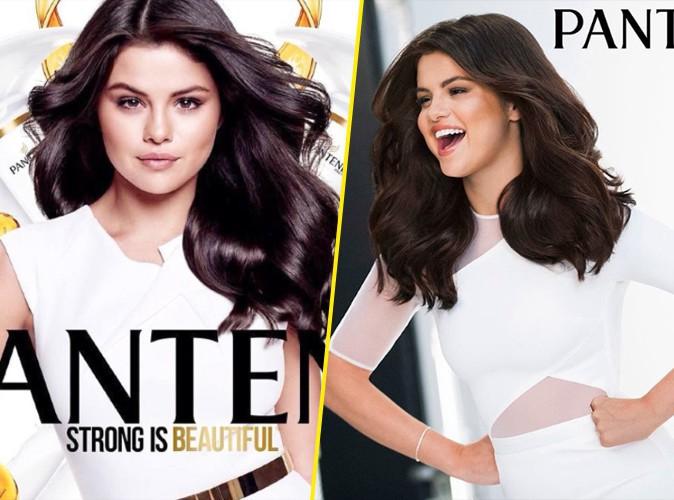 Photos : Selena Gomez : féline et rafraichissante avec sa crinière ébène pour Pantene !