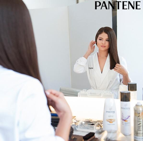 Selena Gomez pour Pantene
