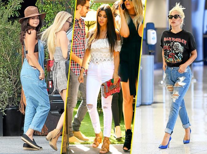 Photos : Selena Gomez, Kourtney Kardashian, Lady Gaga... En direct de la FashionLand !
