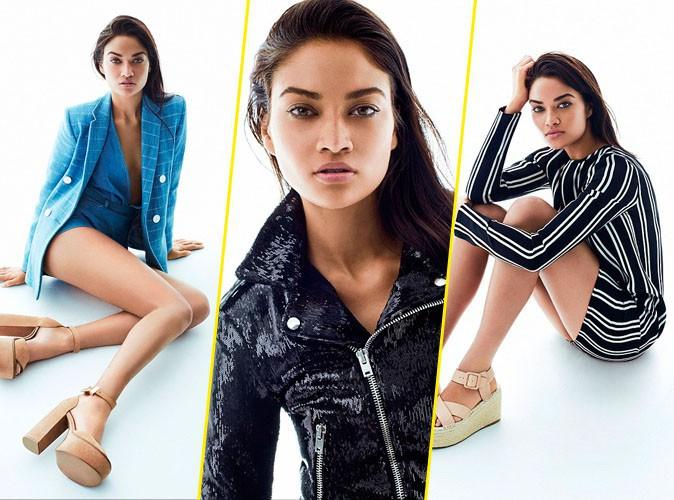 Photos : Shanina Shaik : classe et tendance, elle devient le nouveau visage des chaussures Tony Bianco !