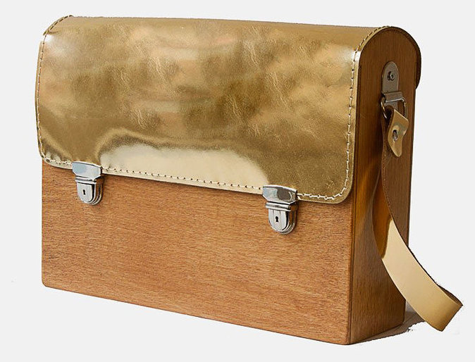 Cartable en bois, Grav Grav 99€