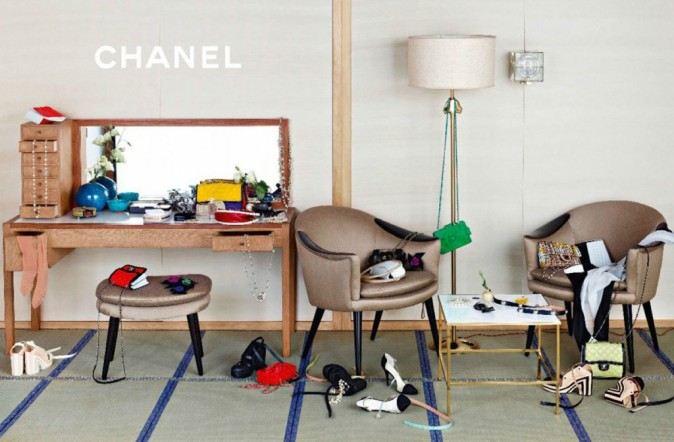 Campagne Chanel Spring-Summer 2013.