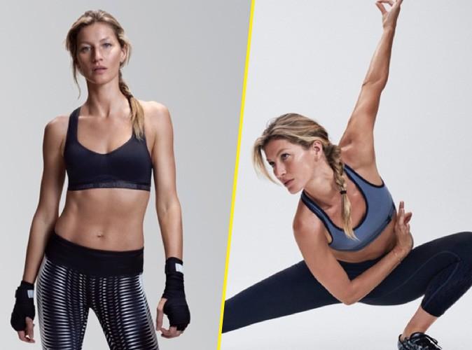 Photos : Svelte et musclée, Gisèle Bündchen se dévoile en sportive sexy pour Under Armour !