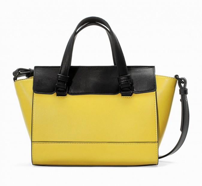 Mini-bag bicolore, Zara 25,95 €