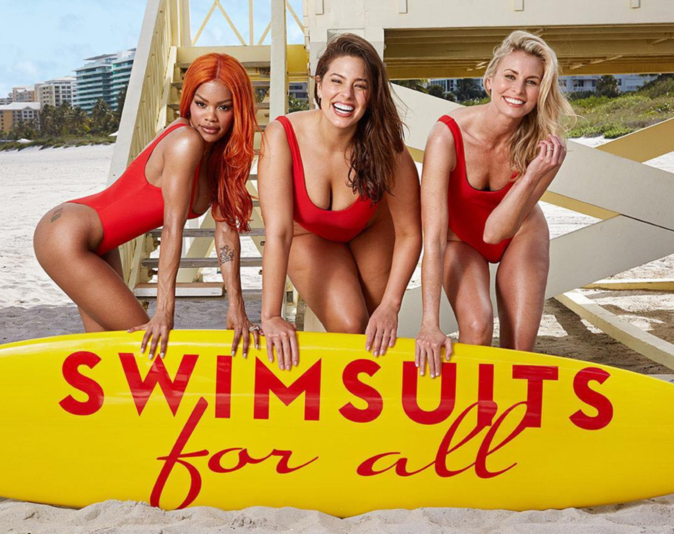 Photos : Teyana Taylor se dénude aux côtés d'Ashley Graham pour Swimsuit For All !