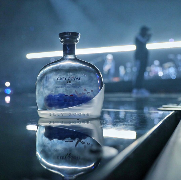 The Weeknd pour Grey Goose