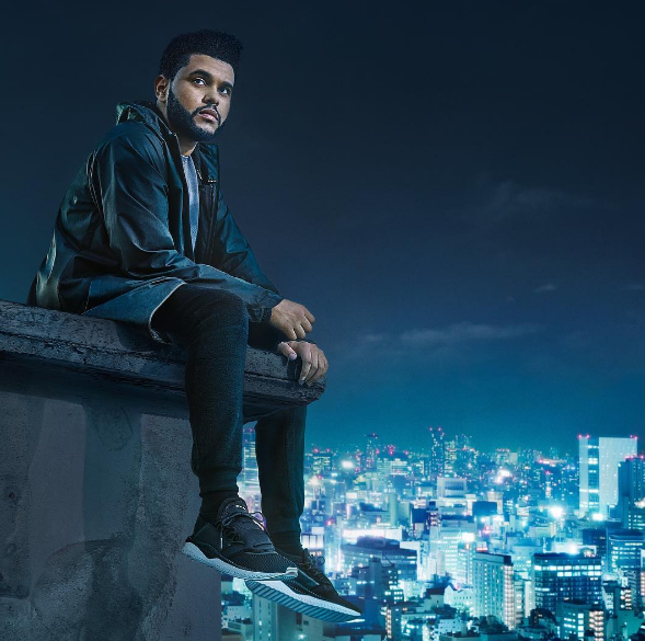 The Weeknd pour Puma