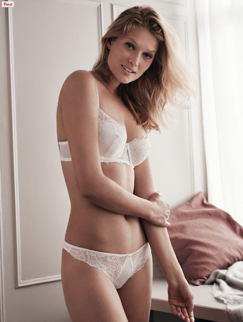 Photos : Toni Garrn captivante pour H&M Lingerie !
