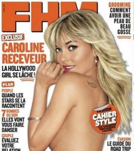 Caroline Receveur en couverture de FHM !
