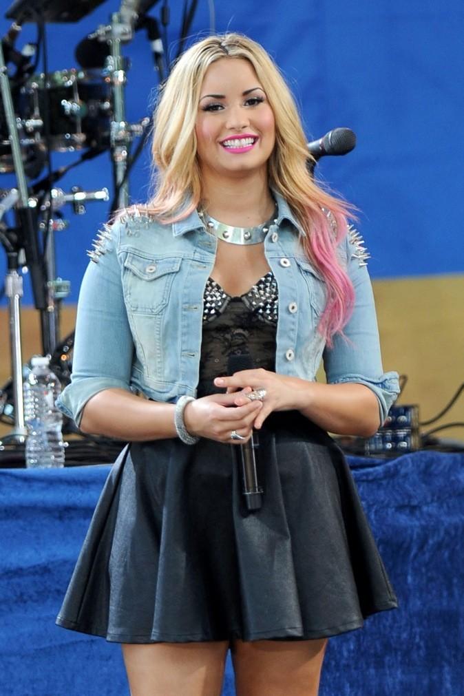 Demi Lovato : veste à pics !