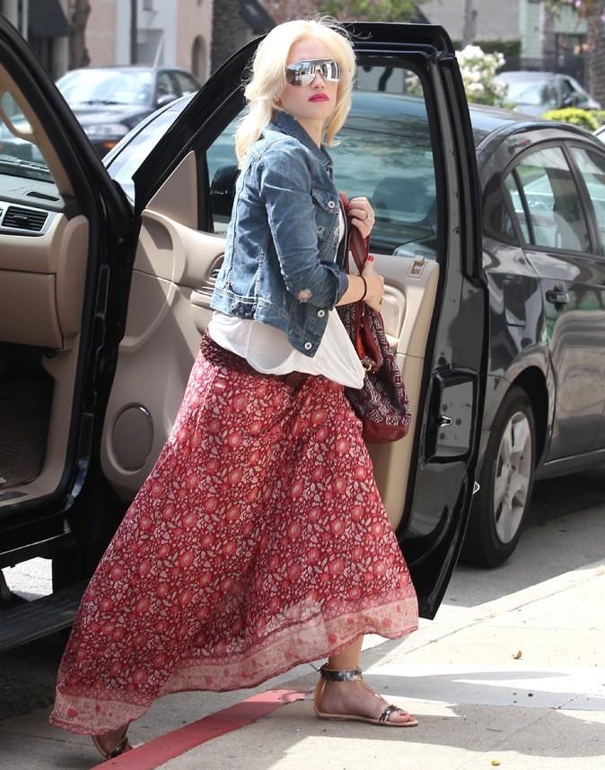 Gwen Stefani : en mode ethnique !