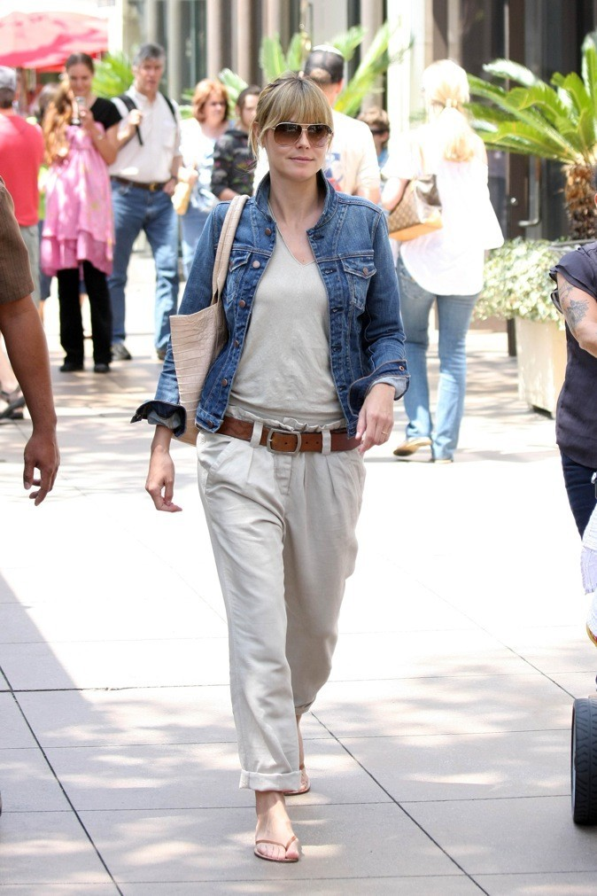 Heidi Klum : une maman fashion !