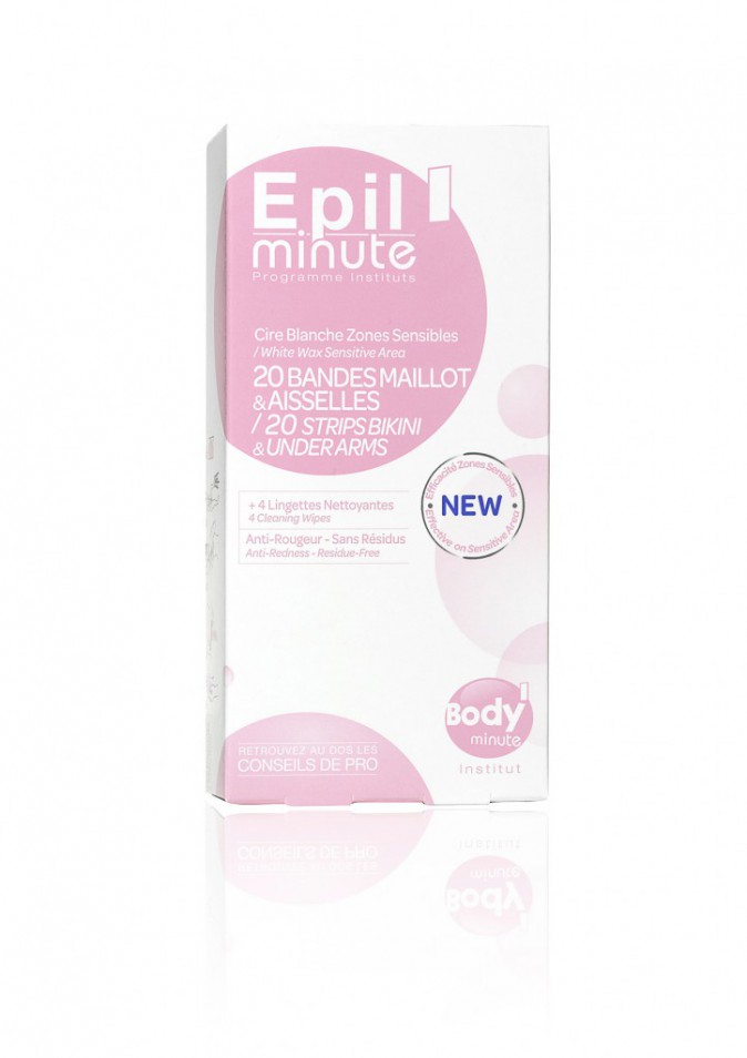 20 bandes zone sensible, Epil Minute, Body Minute 6,80 €