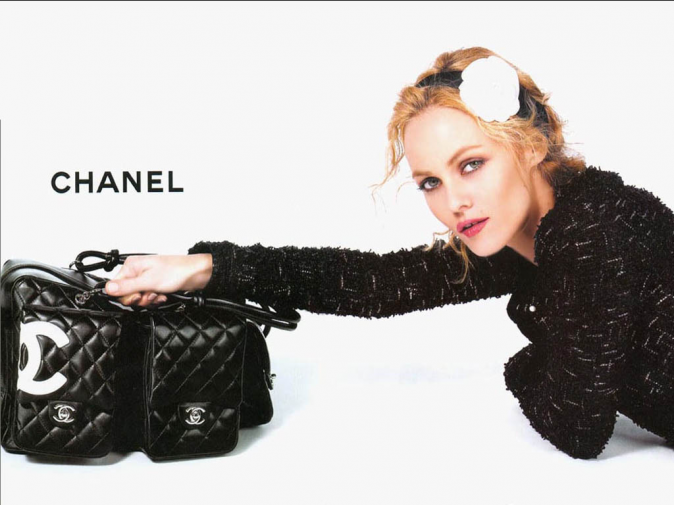 Vanessa Paradis, égérie Chanel