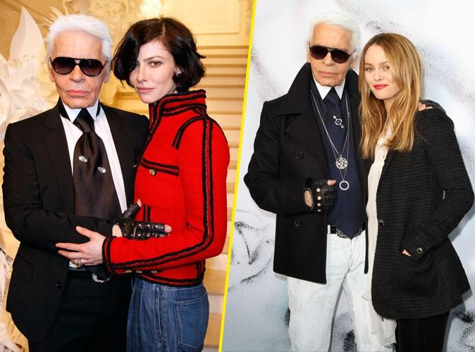 Vanessa Paradis et Anna Mouglalis : deux amies et égéries Chanel