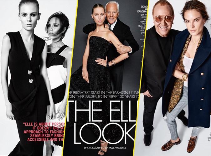 Photos : Victoria Beckham, Giorgio Armani, Michael Kors... : les créateurs fêtent les 30 ans de ELLE Us avec leur muse !