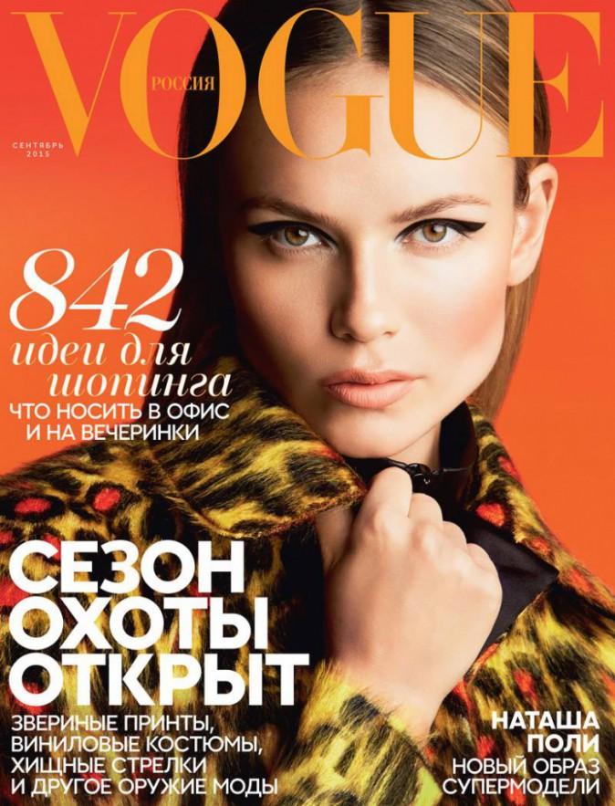 Natasha Poly pour Vogue Russie