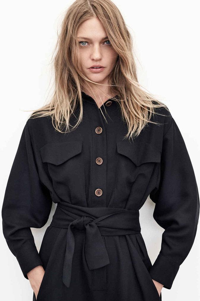Photos : Zara se lance dans les vêtements durables avec Sasha Pivovarova !