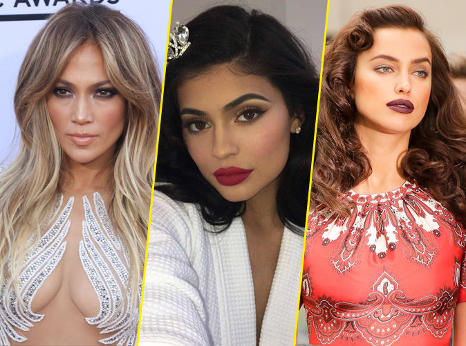 Public Glam Awards : Jennifer Lopez, Kylie Jenner, Irina Shayk... Votez pour le plus beau make up !